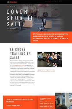 Conception Site Internet pour Coach Sportif