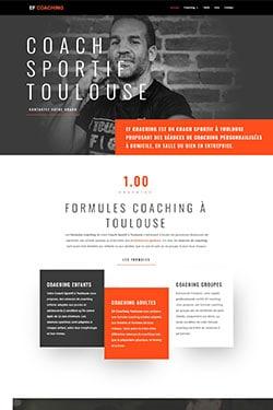 Création Site Internet pour Coach Sportif