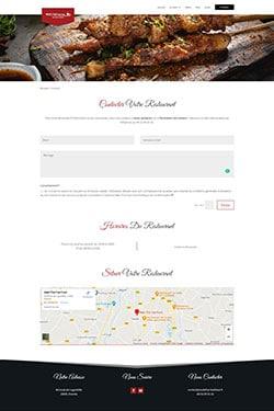 Création Site Internet pour Restaurant Fast Food