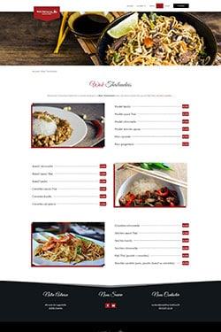 Création Site Web pour Restaurateur